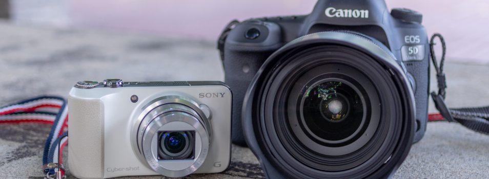 レンズ交換式とレンズ固定式【超初心者向けカメラ選びのお話-1-】